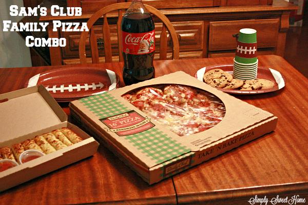Sams Pizza Family Deal