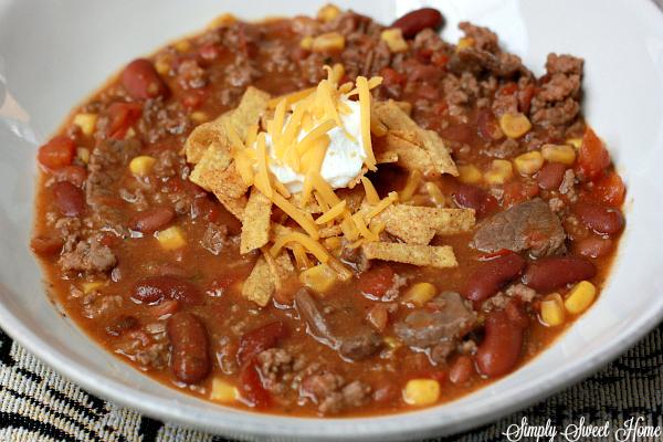 Homemade Taco Soup