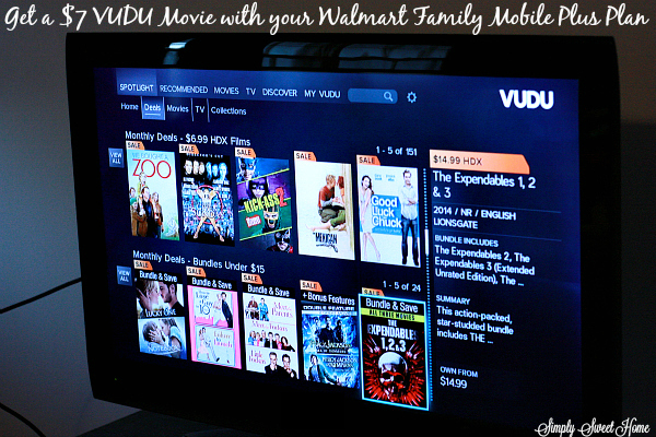 VUDU on screen