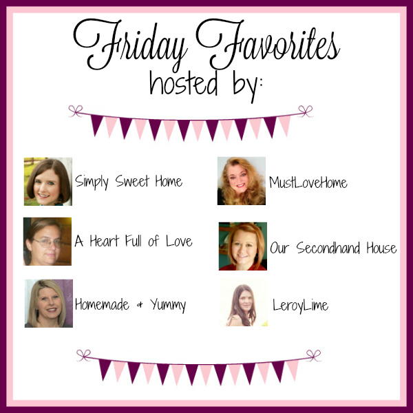 Friday Favorites Banner 2016 3