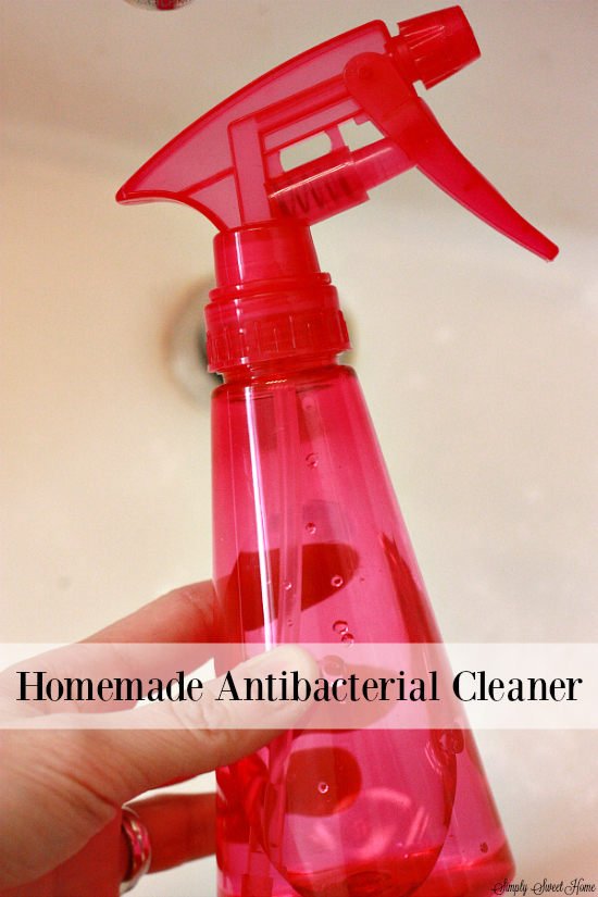 Homemade Antibacterial Cleaner