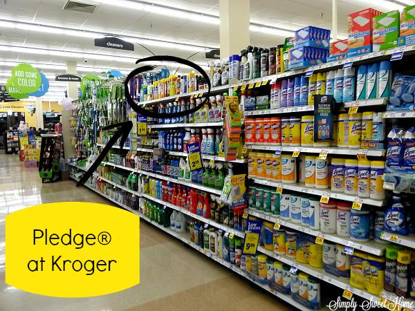 Pledge at Kroger