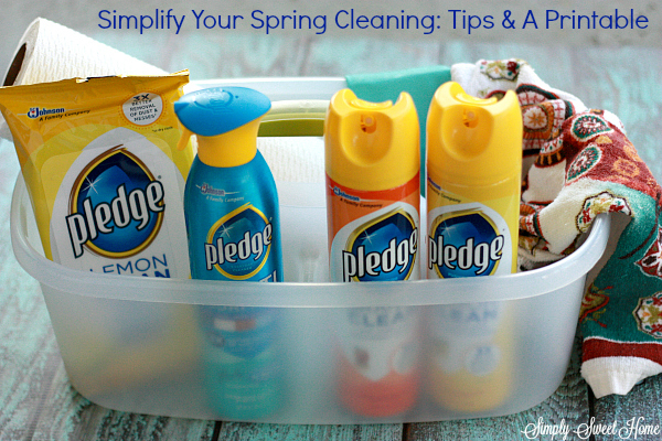 Simplify Your Spring Cleaning