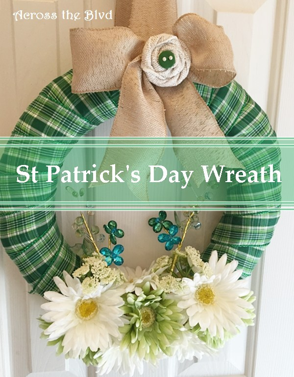St Patricks Day Wreath