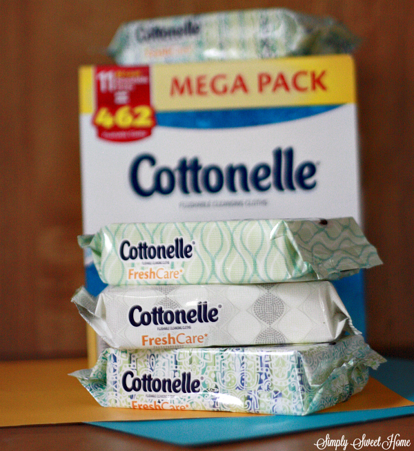Cottonelle Wipes Package