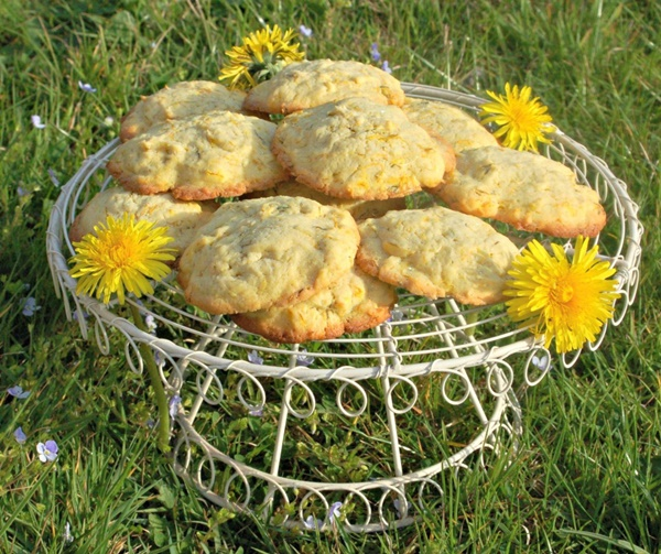 Dandelion and Lemon Biscuits
