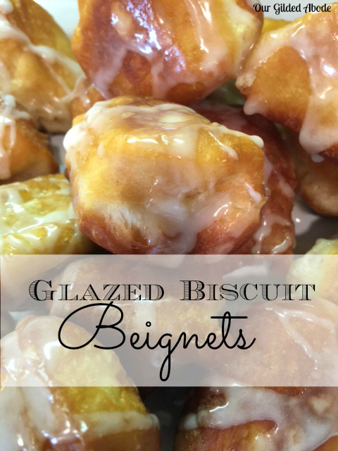 Glazed Biscuit Beignets