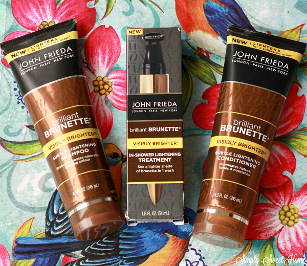 John Frieda Brilliant Brunette Products