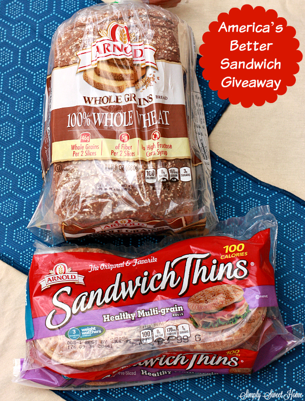 Americas Better Sandwich Giveaway