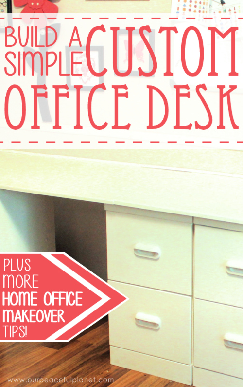 Build a Custom Office Desk