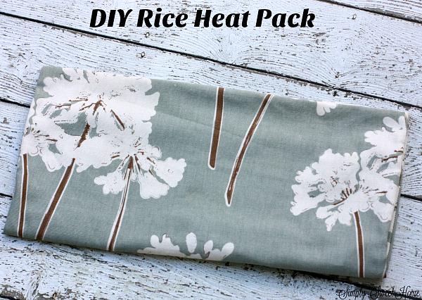 DIY Rice Heat Pack