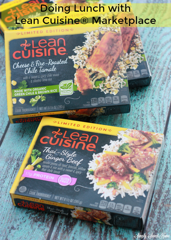 Doing Lunch with Lean Cuisine Marketplace