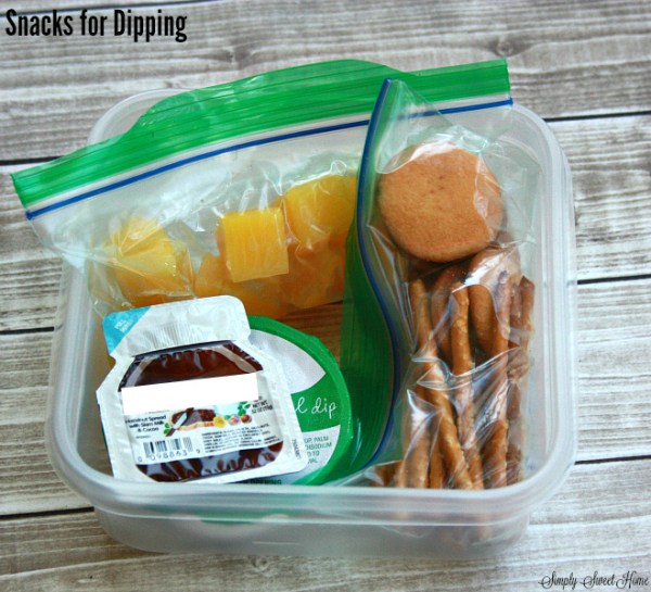 Snacks for Dipping