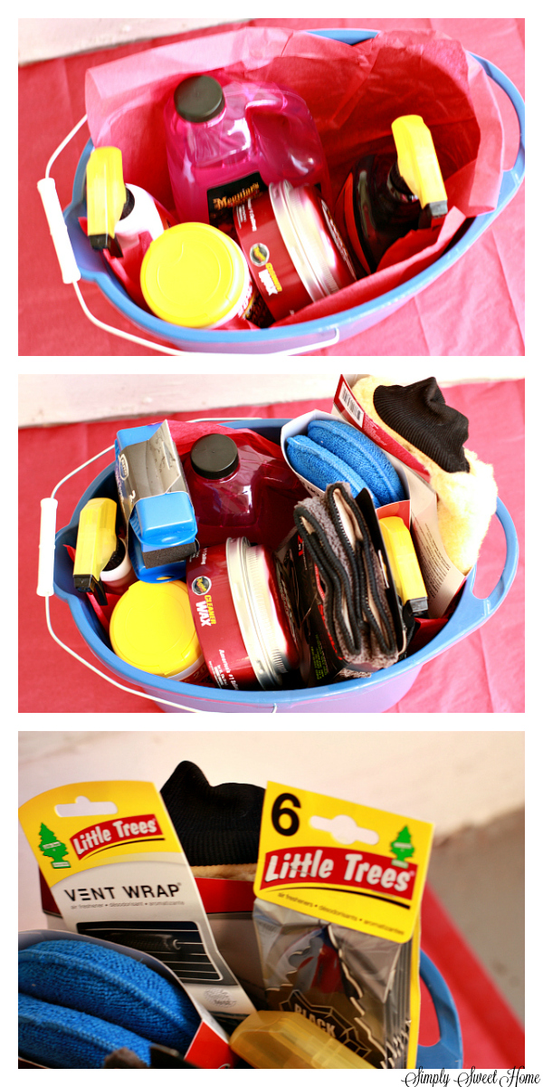 New Car Gift Basket Tutorial