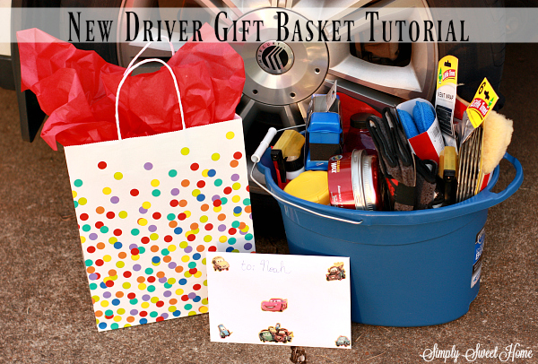 New Driver Gift Basket Tutorial