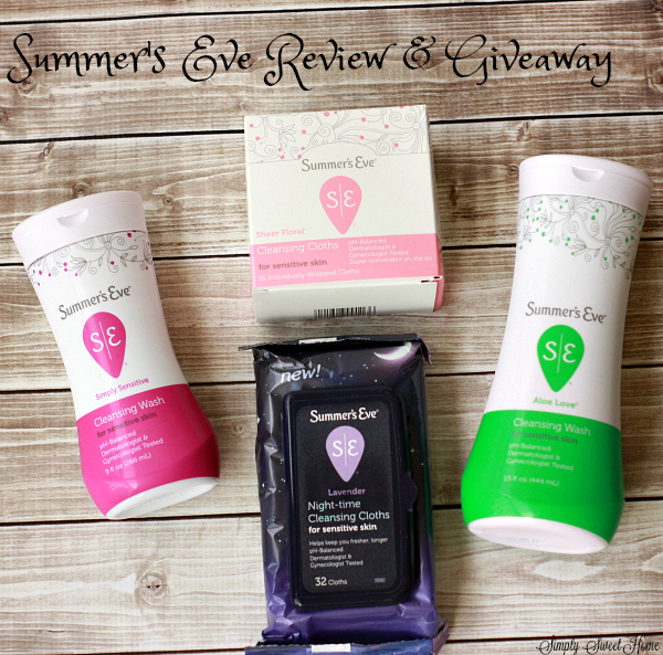 Summers Eve Review Giveaway