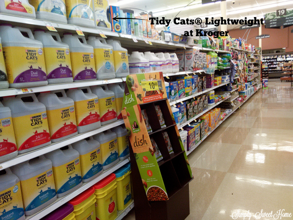 Tidy Cats at Kroger