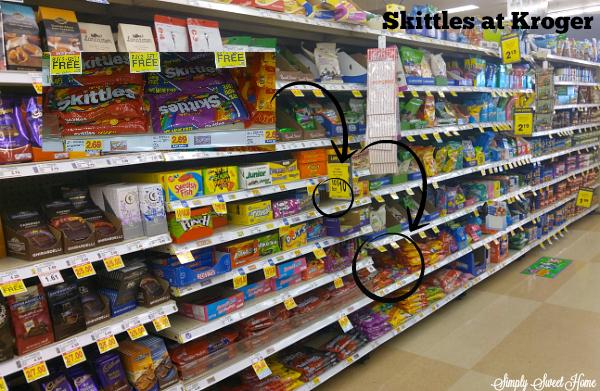 Skittles at Kroger