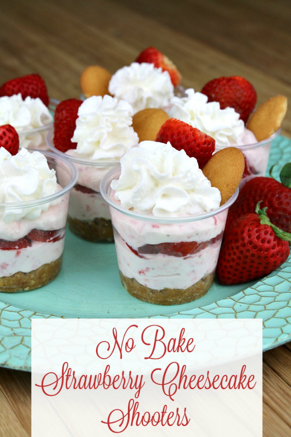 No-Bake-Strawberry-Cheesecake-Shooters