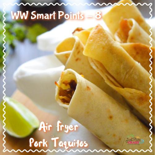 Air Fryer Pork Taquitos