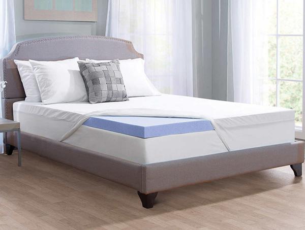 Marvelous memory foam mattress topper