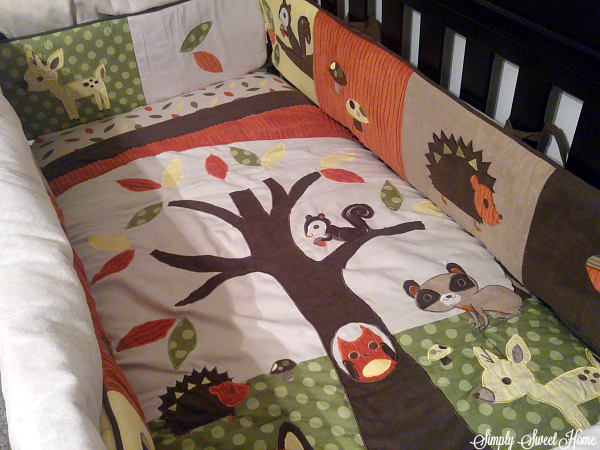 Simple Apart from the bedding set they also offer a great crib bumper