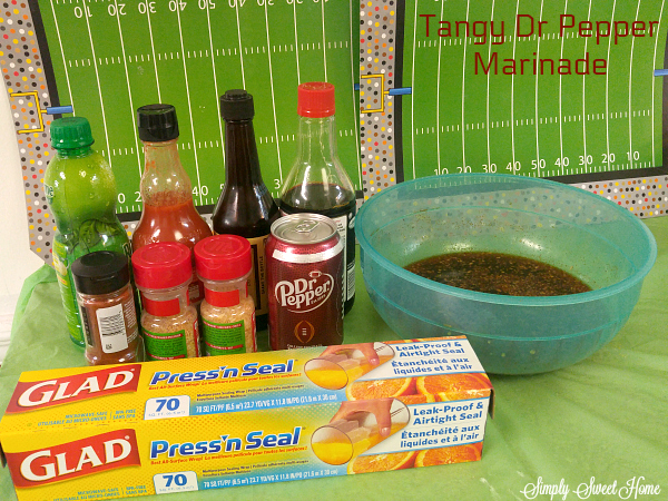 Tangy Dr Pepper Marinade