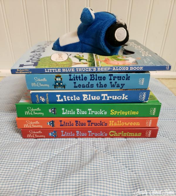 Children's Book Review: Little Blue Truck