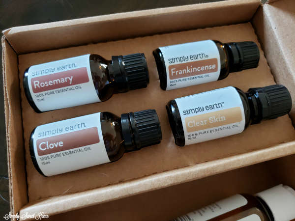 Simply Earth Essential Oil Recipe Box for August - Skincare