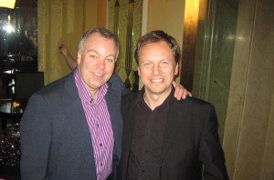 with Steve Pemberton