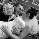 Wedding Couple Gosfield Hall