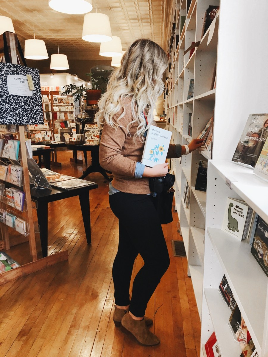 Cozy Fall Style + My Monthly Book Club Announcement!