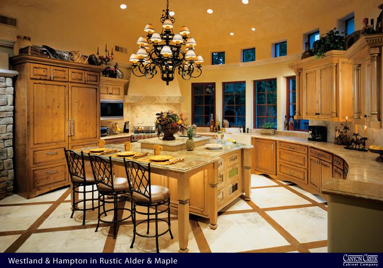 248CC Canyon Creek Ceramic & Natural Stone Kitchen