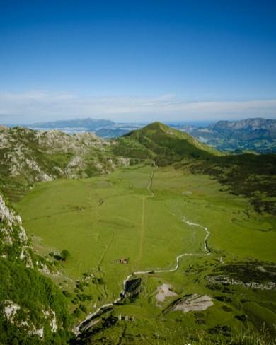 Mirador del Principe, Lagos de Covadonga