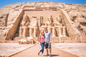 """Hannah & Adam """"Getting Stamped"""" in Egypt"""