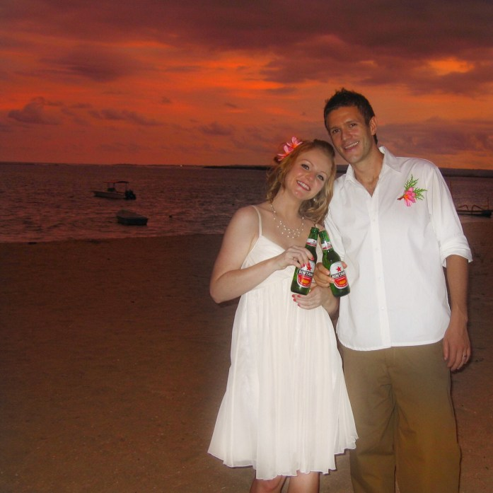 Kim & Rob - Toasting to a long lasting marriage