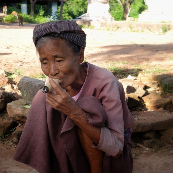 Check out the cheroot cigarettes, errr…cigars…puff, puff, give! The Best Myanmar