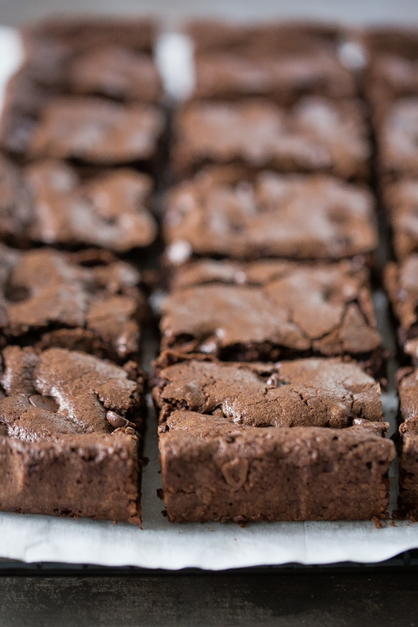 Olive Oil Brownies One Bowl Dairy Free Simply Whisked