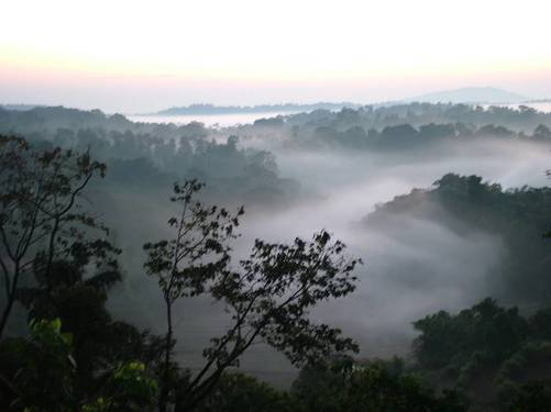 Coorg Raja Seat in Madikeri!! Looks like heaven
