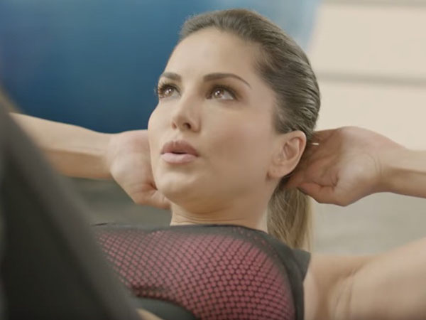 Sunny Leone's workout video will surely give you fitness goals