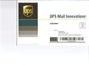 UPS-Envelope