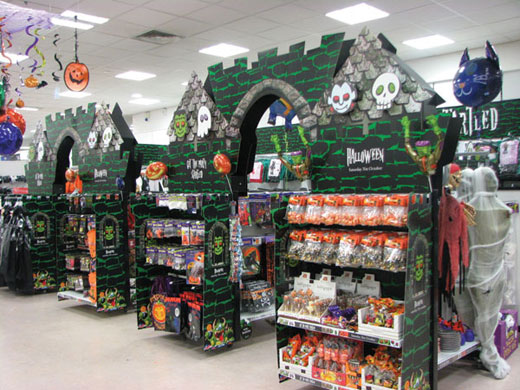Matalans Halloween Point Of Sale Display Simpson Group