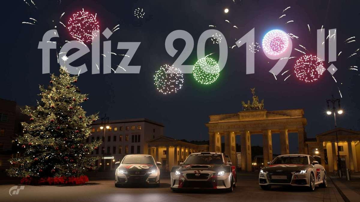 🎉FELIZ AÑO 2019!! Muchas gracias😘