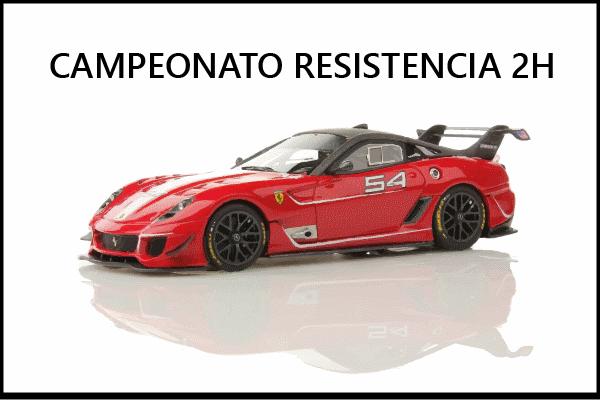 Campeonato aseto corsa ps4 resistencia ferrari