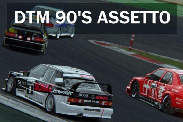 assetto corsa ps4 dtm 90 s