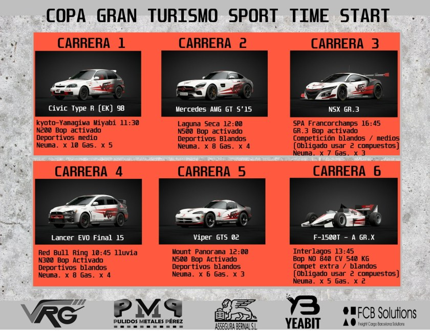competicion individual online gt sport