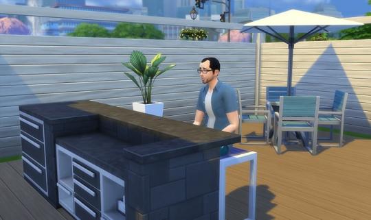 Sims 4 Kit Ambiance Patio Bain Remous Jacuzzi