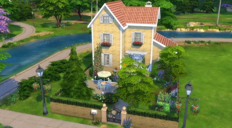 Sims 4 Tlchargement Maison Sans Cc Download House No Cc