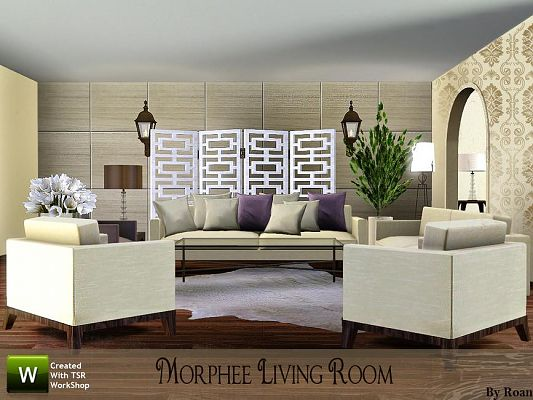 Sims 3 Updates The Resource Morphee Living Room By Roan