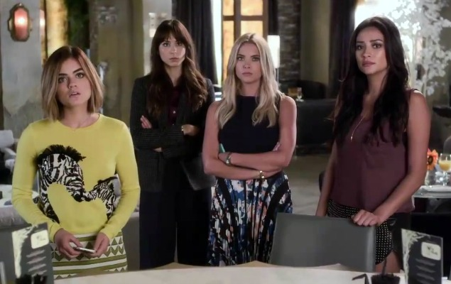 Pretty Little Liars 5 Years Forward